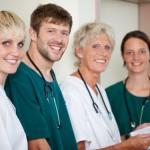 Freundliches medizinisches Personal