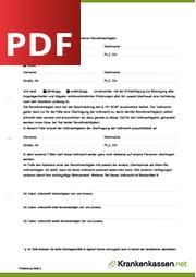 Deckblatt der für PDF-Datei Generalvollmacht