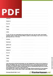 Deckblatt der für PDF-Datei Vorsorgevollmacht